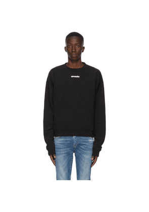 Off-White Black and Blue Marker Arrows Sweatshirt