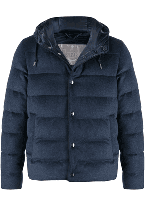 Herno cashmere padded jacket - Blue