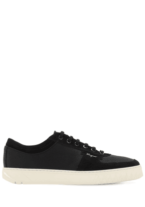 Scuby Leather & Suede Sneakers