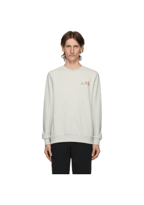 A.P.C. Grey Michel Sweatshirt