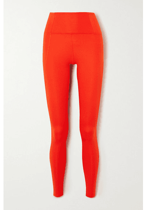 Girlfriend Collective - Compressive Stretch Leggings - Red