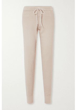 Varley - Alice 2.0 Cotton-piqué Track Pants - Neutral