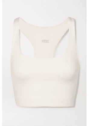 Girlfriend Collective - Paloma Stretch Sports Bra - Ivory