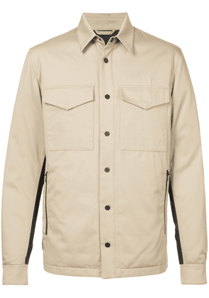 Aztech Mountain Traynor's down shirt jacket - Brown