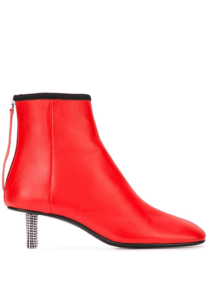 Calvin Klein 205W39nyc embellished heel boot - Red