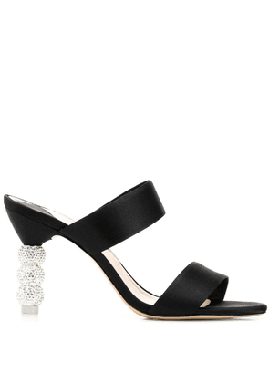 Sophia Webster embellished heel sandals - Black