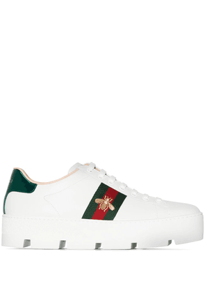 Gucci Ace 50 platform sneakers - White