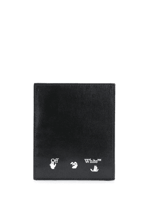 Off-White logo cardholder - Black