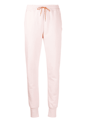 PS Paul Smith embroidered logo track pants - PINK