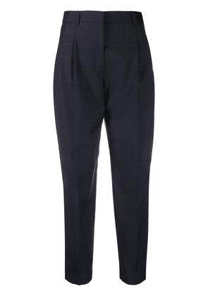 PS Paul Smith checked tailored trousers - Blue