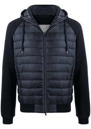 Herno drawstring-hood padded jacket - Blue