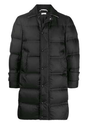 Thom Browne quilted zipped puffer jacket - Black