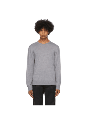 Z Zegna Grey Wool Sweater