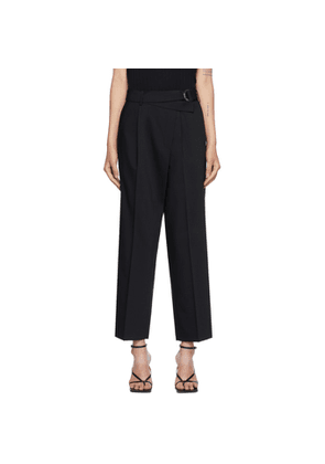 Helmut Lang Black Wrap Trousers