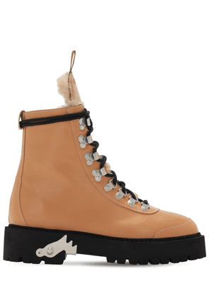 45mm Leather Combat Boots