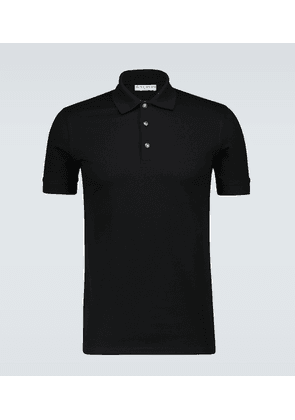 4G buttons slim-fit polo shirt