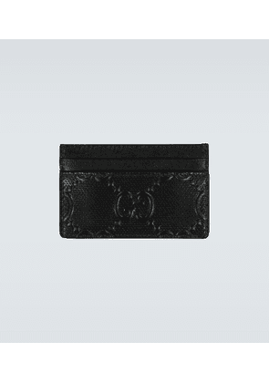 GG embossed leather cardholder