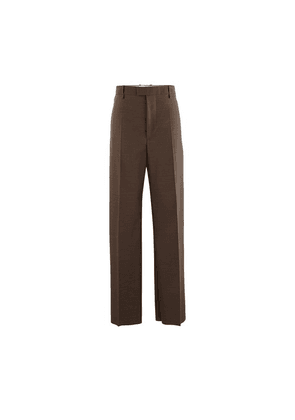 Travel wool trousers