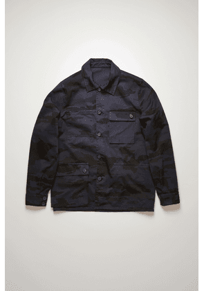 Acne Studios FN-MN-OUTW000433 Mid Blue Reversible chore jacket