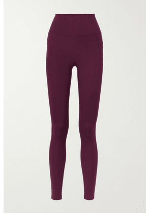 Girlfriend Collective - Compressive Stretch Leggings - Purple
