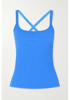 Year of Ours - Ribbed Stretch Tank Top - Blue
