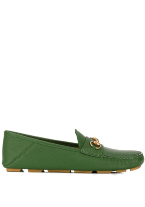 Gucci horsebit loafers - Green