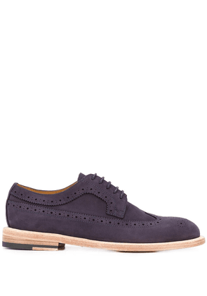 Paul Smith perforated oxford shoes - Blue