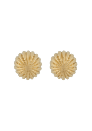 LANVIN curved sphere cufflinks - GOLD