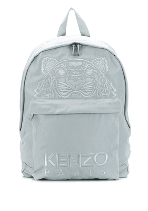 Kenzo Tiger embroidered backpack - Green