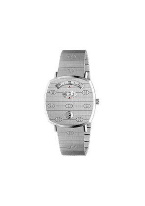 Gucci Grip 35mm watch - SILVER