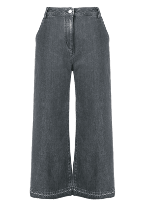 Fabiana Filippi flared trousers - Grey