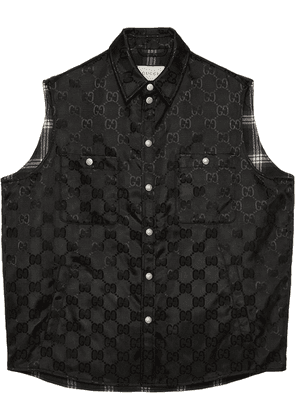 Gucci Off The Grid GG Supreme waistcoat - Black