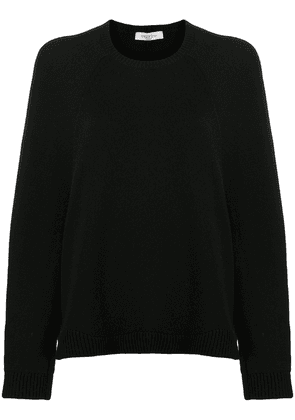 Valentino loose-fit knitted jumper - Black
