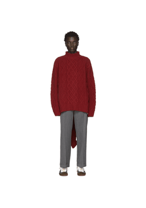 Loewe Red William De Morgan Dragon Tail Turtleneck