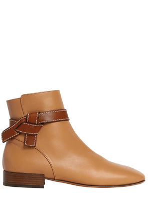 20mm Gate Leather Ankle Boots
