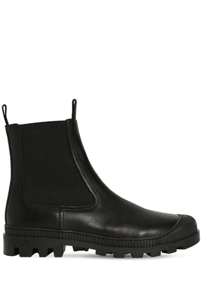 30mm Chelsea Leather Boots
