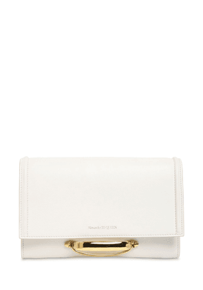 The Story Leather Clutch