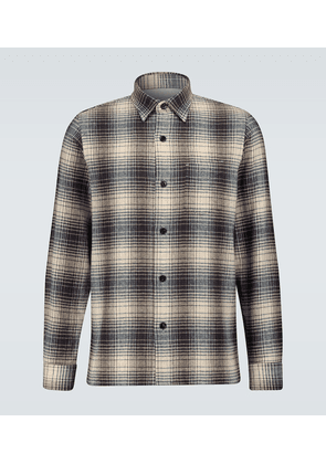 Ombré checked Sol overshirt