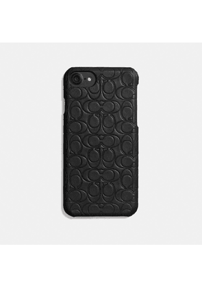 Iphone 6s/7/8/x/xs Case In Signature Leather in Black - Size 7
