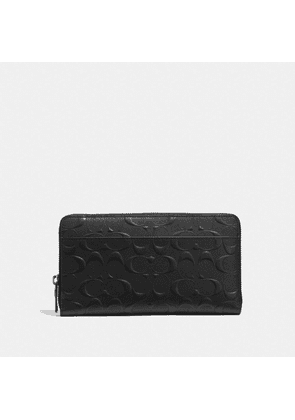 Document Wallet In Signature Leather in Black