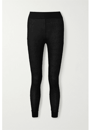 Commando - Stretch-modal And Cashmere-blend Leggings - Black