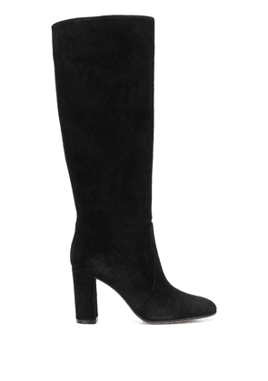 Gianvito Rossi suede knee-high boots - Black