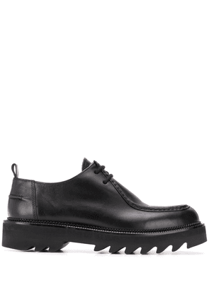 AMI tractor sole derby shoes - Black