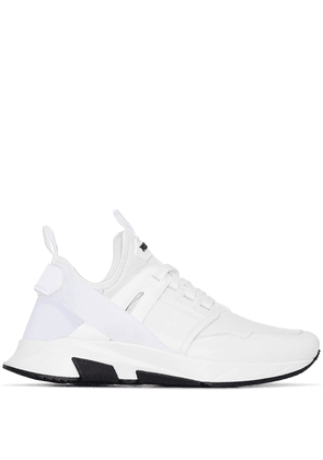 Tom Ford Jago leather sneakers - White