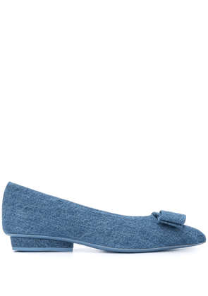 Salvatore Ferragamo Viva ballerina shoes - Blue