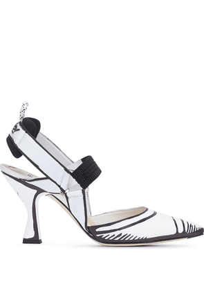 Fendi Colibrì slingbacks pumps - White