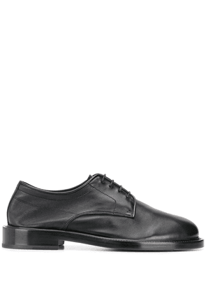 LANVIN smooth finish Derby shoes - Black