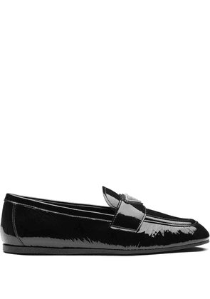 Prada Naplak leather loafers - Black