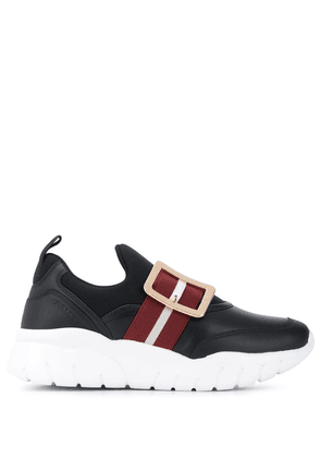 Bally Brinelle strapped sneakers - Black