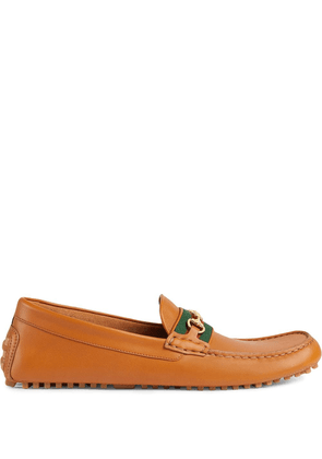 Gucci Interlocking G Horsebit loafers - Brown